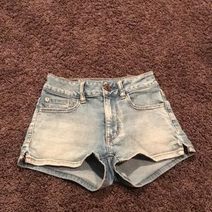 American eagle 🦅 size 00: High rise shortie